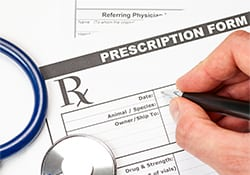 Prescription form: Animal Hospital in Marinette